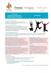 Folder KiXs Kinderen en jongeren met overgewicht in Leidschendam-Voorburg 13-10 copy